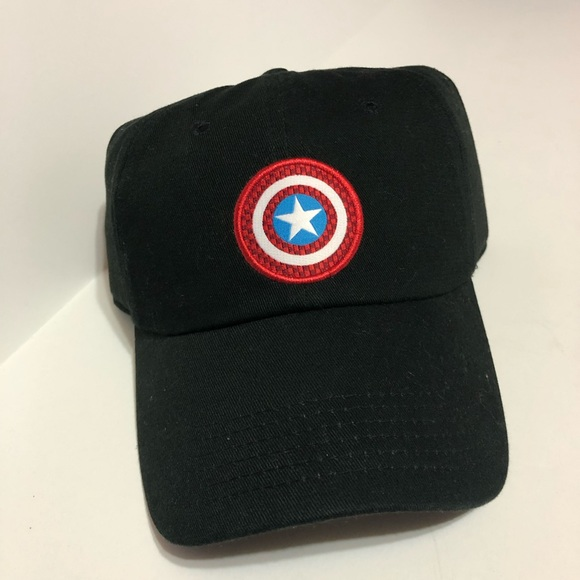 e455f73c43d VANS X MARVEL CAPTAIN SHIELD COURTSIDE HAT